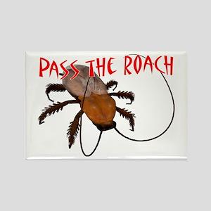 Pass the Roach Rectangle Magnet