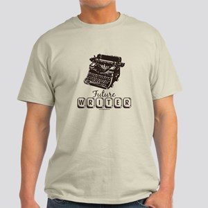 Future Writer Aspring Author Light T-Shirt