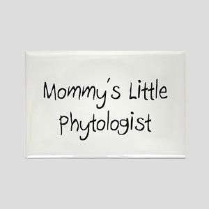 Mommy's Little Phytologist Rectangle Magnet