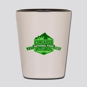 Congaree - South Carolina Shot Glass