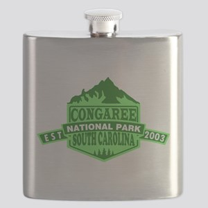 Congaree - South Carolina Flask