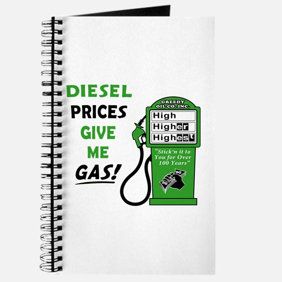 High Diesel Prices Journal