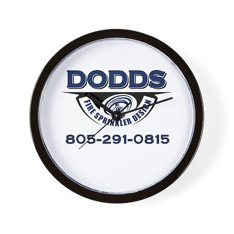 Dodds Fire Sprinkler Design Wall Clock