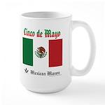 Masonic Cinco De Mayo Large Mug