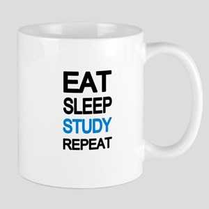 Eat sleep study repeat Mugs