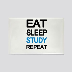 Eat sleep study repeat Magnets