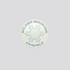 Soldier Mountain - Fairfield - Idaho Mini Button