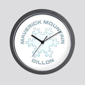 Maverick Mountain - Dillon - Montana Wall Clock