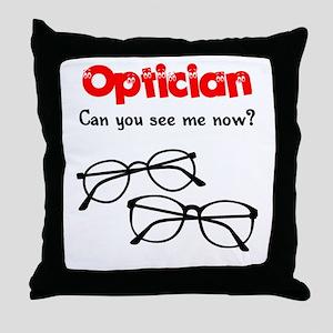 Optician Throw Pillow