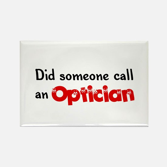 Optician Rectangle Magnet (10 pack)