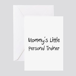 Mommy's Little Personal Trainer Greeting Cards (Pk