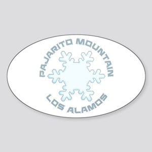 Pajarito Mountain - Los Alamos - New Mex Sticker