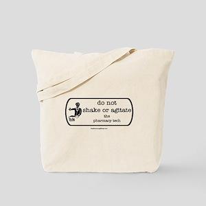 shake or agitate pt Tote Bag