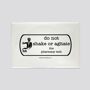 shake or agitate pt Rectangle Magnet