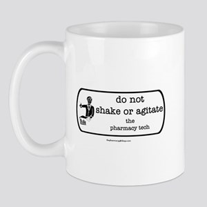 shake or agitate pt Mug