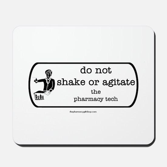 shake or agitate pt Mousepad