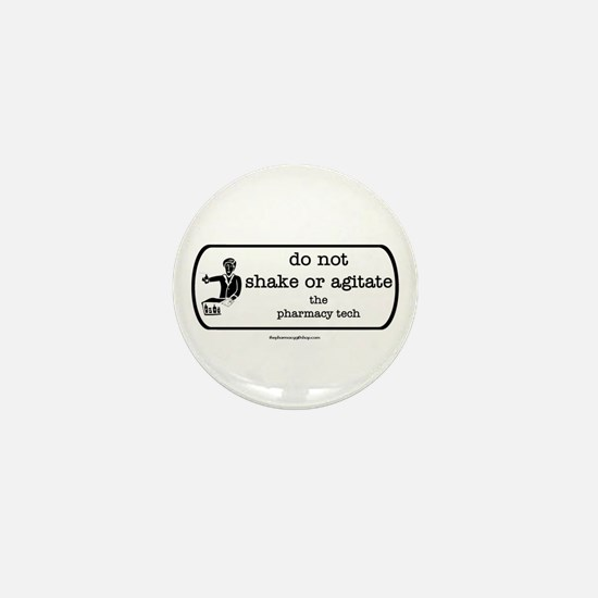 shake or agitate pt Mini Button