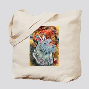 A Scottish Terrier Tote Bag