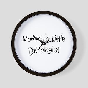 Mommy's Little Pathologist Wall Clock