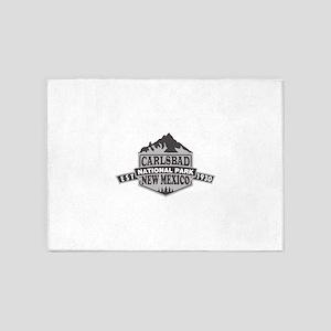 Carlsbad Caverns - New Mexico 5'x7'Area Rug