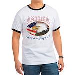 RETRO America- Love it or Leave it! Ringer T