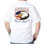 RETRO America- Love it or Leave it! Golf Shirt