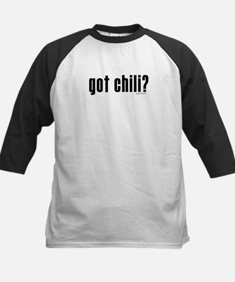 got chili? Kids Baseball Jersey