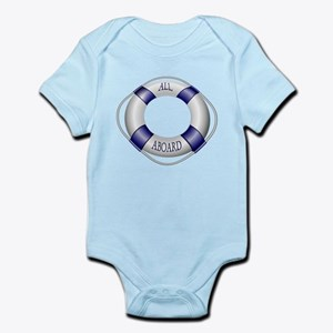 Smooth and Happy Sailing Infant Bodysuit