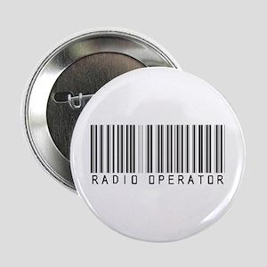 "Radio Operator Barcode 2.25"" Button"