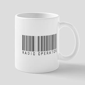 Radio Operator Barcode Mug