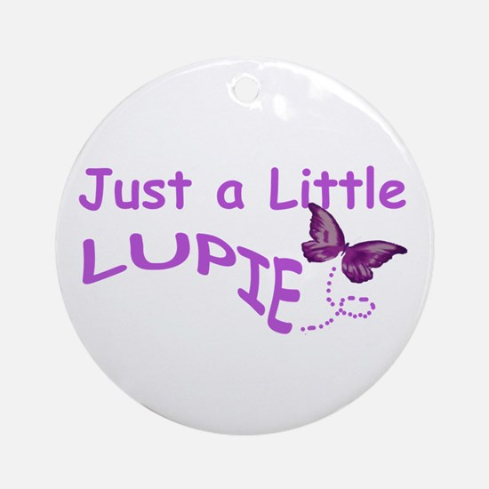A Little Lupie Ornament (Round)