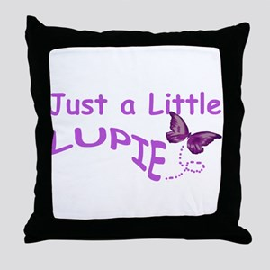 A Little Lupie Throw Pillow