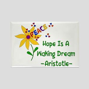 Waking Peace Dream Rectangle Magnet