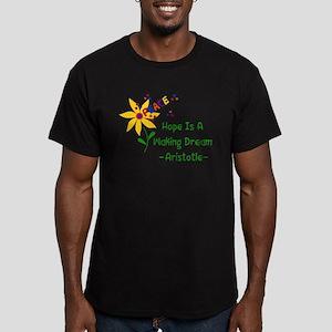 Waking Peace Dream Men's Fitted T-Shirt (dark)