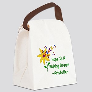 Waking Peace Dream Canvas Lunch Bag