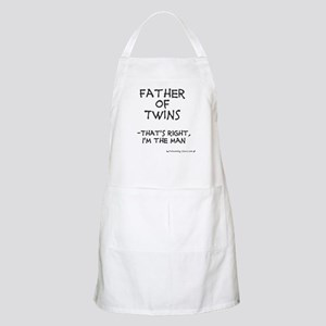 Father of Twins, I'm the man BBQ Apron