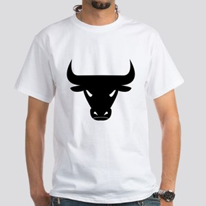 Black Bull White T-Shirt
