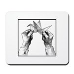 Origami Folding - Vintage Mousepad