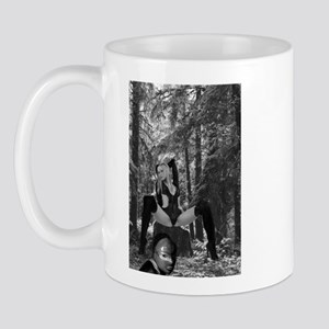 Domme in the woods. Mug