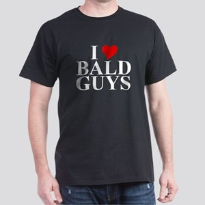 """Bald Guys"" Dark T-Shirt"