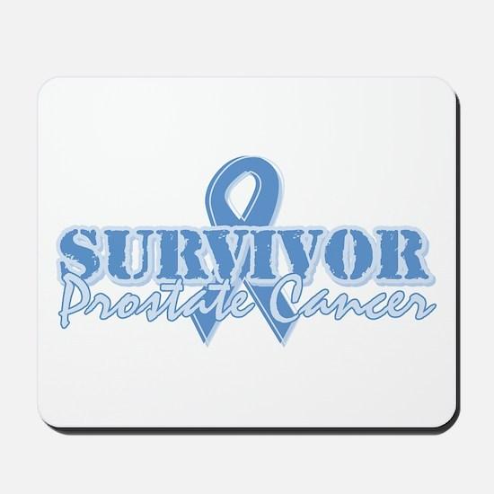 Survivor prostate cancer Mousepad