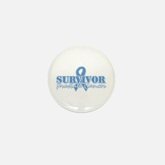 Survivor prostate cancer Mini Button