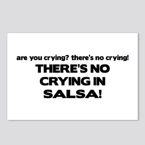 There's No Crying Salsa Postcards (Package of 8)