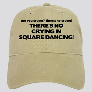There's No Crying Square Dancing Cap