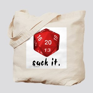 d20 Suck It Tote Bag