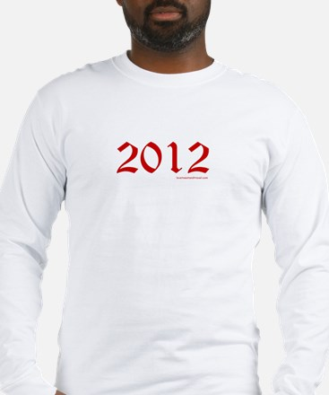 2012 Red - Long Sleeve T-Shirt