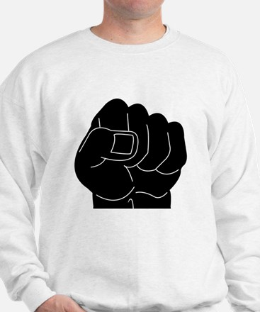 Black Power Fist Sweatshirt