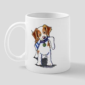 Playful Brittany Spaniel Mug