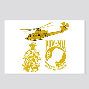 POW-MIA Gold Postcards (Package of 8)