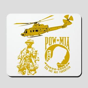 POW-MIA Gold Mousepad